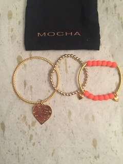 MOCHA Bracelet Trio