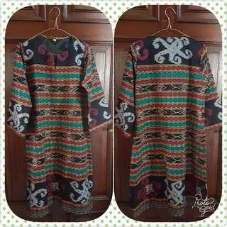 Dress Tenun Lombok