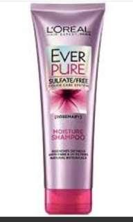 Loreal sulfate shampoo