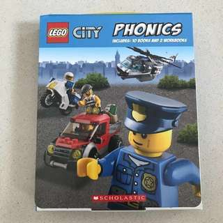 🌹Reduced Price 🌹LEGO City Phonics Book Set * Free Postage