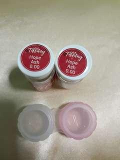 Tiffany contact lens/Hope Ash