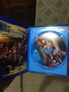Samurai warrior 4 ps4 games for sale or swap (offer me)