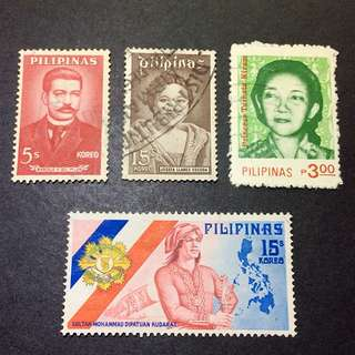 Pilipinas stamp used 菲律賓 已蓋銷票