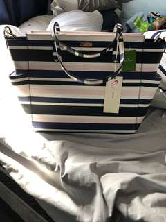 Brand new Kate spade diaper bag/tote
