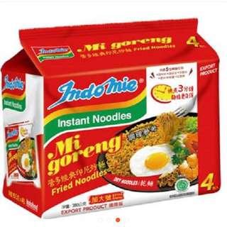 營多麵[Indomie]印尼炒麵/泡麵 加大版(4包入)