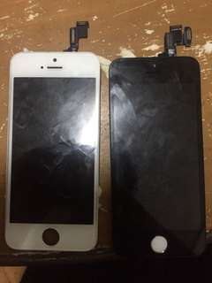 2 IPHONE 5s LCD TOUCHSCREEN DIGITIZER
