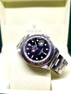 Rolex Oyster Perpetual Date Black Explorer 2 REF: 16570 Timepiece