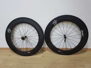 88mm singlespeed carbon wheel