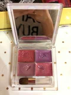 The face shop color-full lip palette 01