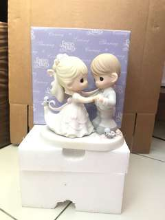 "Precious Moments Figurine "" You Are My Dream Come True"""