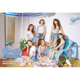 <<代購>>AOA - Bingle Bangle (Play /Ready Ver.)