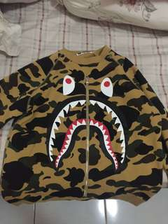 BAPE Camo Shark Sweater