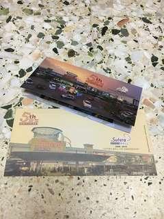Sutera Mall 5th Anniversary 2008-2013 stamp