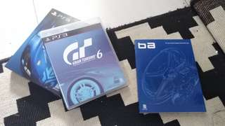 Gran Turismo 6 limited edition inc apex booklet