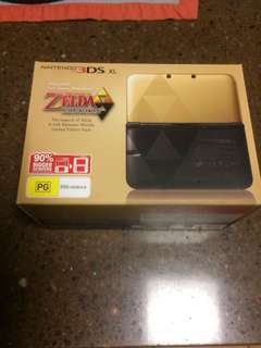 3ds XL LIMITED EDITION ZELDA, sealed new in box!!