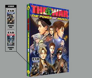 """[Ready Stock] EXO 4th Repackage Album - """"Power of Music"""""""