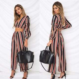 Stripes Sleeves Coords