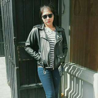 For sale synthetic leather jacket