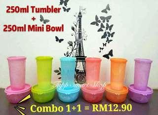 Mini Bowl + Tumbler