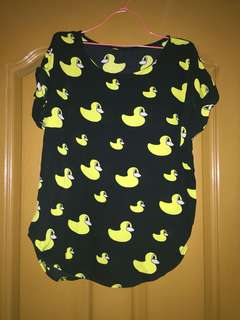 Duckling Printed Blouse