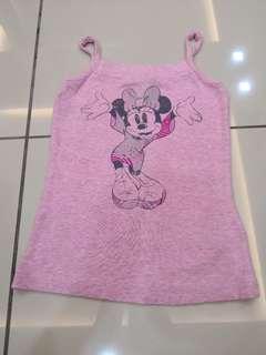 Disney Pink Singlet (4-5t)