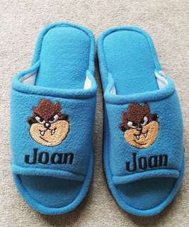 Personalized Slippers with Name & Character