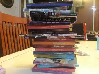 BUNDLE OF BOOKS FROM WATTPAD