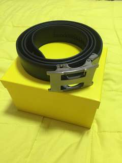Men belt with auto bunker