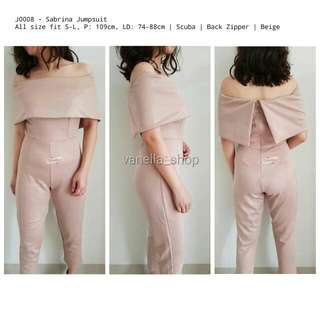 Ready Stock - Sabrina Jumpsuit