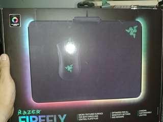 雷蛇發光mouse pad 95%new