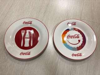 Authentic Coca Cola Memorabilia Porcelain Plates 2012