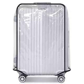全新24寸行李喼透明膠套(送彩色行李帶)