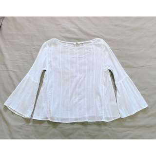 UNIQLO Soft Cotton Long Sleeve Blouse #Ramadan50