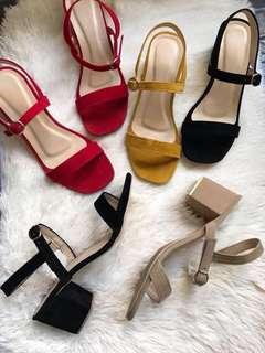 Missy Block Heels