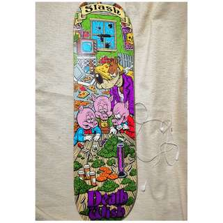 DEATH WISH Board and WASSUP HATERS Griptap Skateboard (Negotiable)