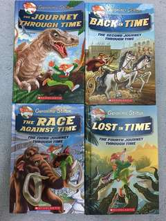 Geronimo Stilton Journey Through Time series