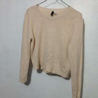 H&M Peach Sweater