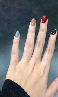 Flarmor nail polish HALAL