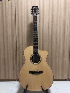 Goodall Grand Concert Italian Spruce Honduran Rosewood Acoustic Guitar