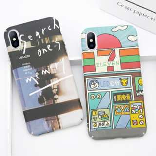 [FREE DELIVERY] (iPhone) Hipster Cute cases
