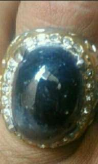 buy 1 free 1 all items for same price until June 8, 2018     Blue sapphire ( bigsize stone)