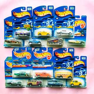 HOT WHEELS COLLECTOR ITEMS