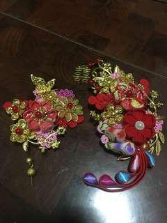 新娘頭飾 中式