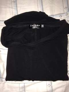 Zalora Basics Black Dress (Super comfy!)