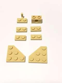 Lego Bricks L191 Tan New