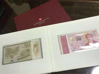 SG50 Commemorative Notes set