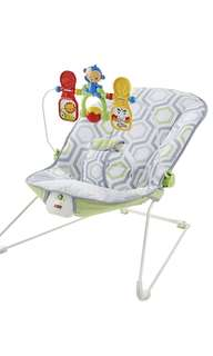 ~Ready Stocked~ Fisher-Price Baby Bouncer Rocker, Geo Meadow