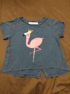 Gingersnaps Top (flamingo)