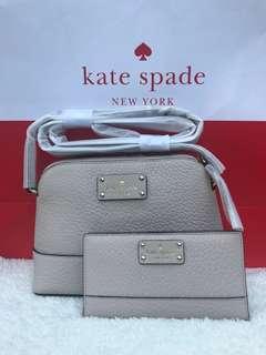 Kate spade crossbody bag and wallet set