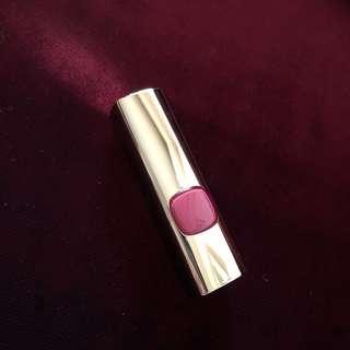 🚚 L'oreal 純色訂製唇膏 #624紅武士玫瑰